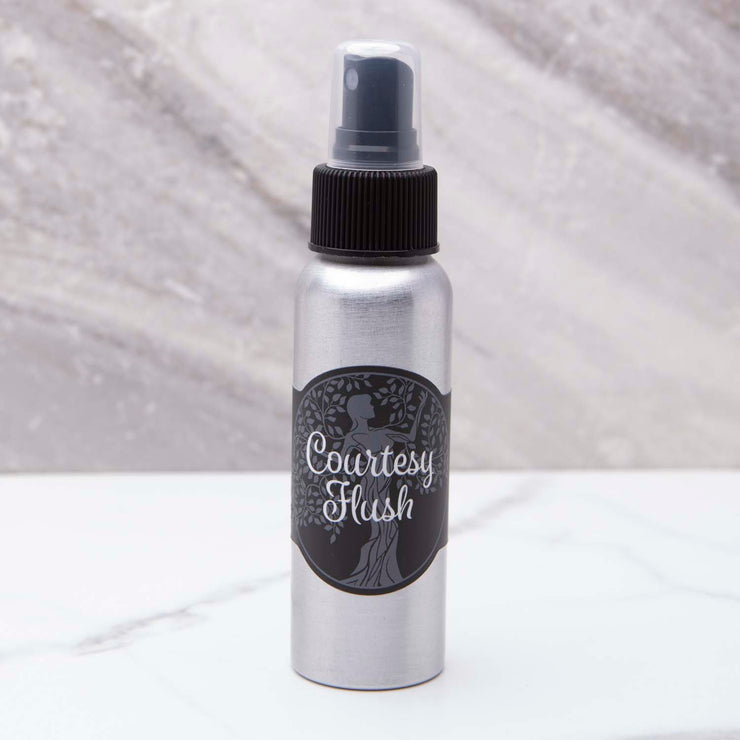 Courtesy Flush - Toilet Spray 2.5 oz - Walk in the Woods (Christmas Tree) Scent
