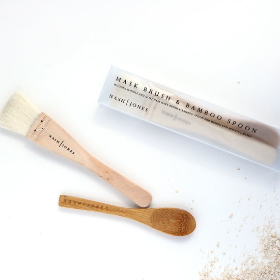 Mask Brush & Bamboo Spoon