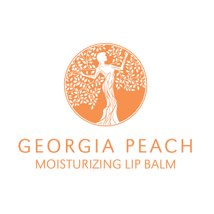 Georgia Peach Flavored Lip Balm
