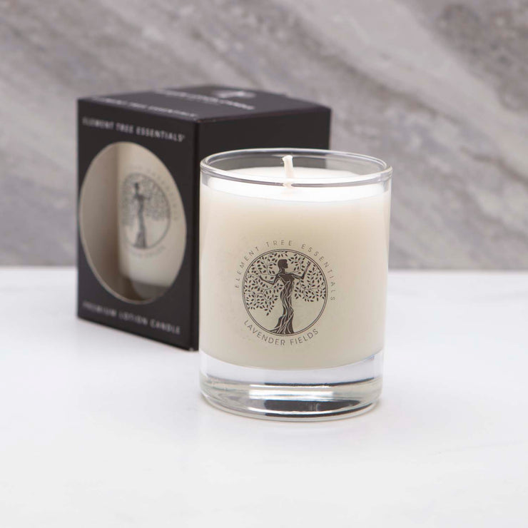 3 oz Lavender Fields Votive Lotion Candle