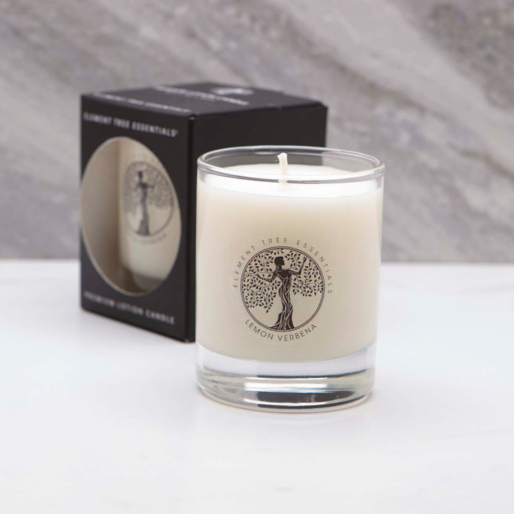 3 oz Lemon Verbena Votive Lotion Candle