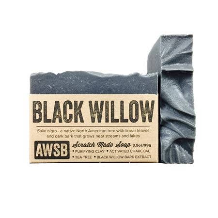 Black Willlow Bar Soap - A Wild Soap Bar 3.5 oz