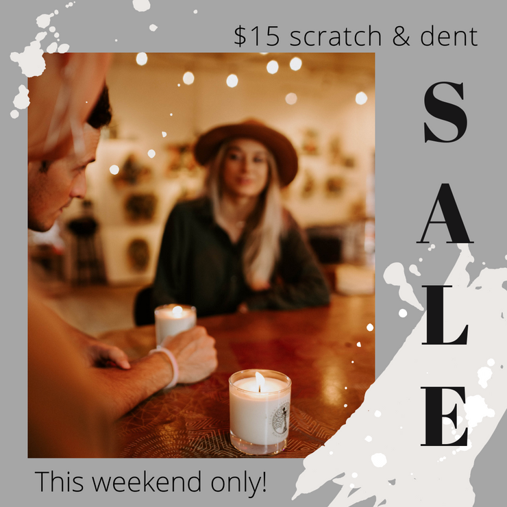 Scratch and Dent 11 oz Lotion Candles - while supplies last