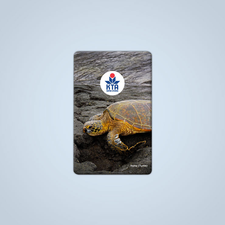 KTA Gift Card - Honu (Turtle)