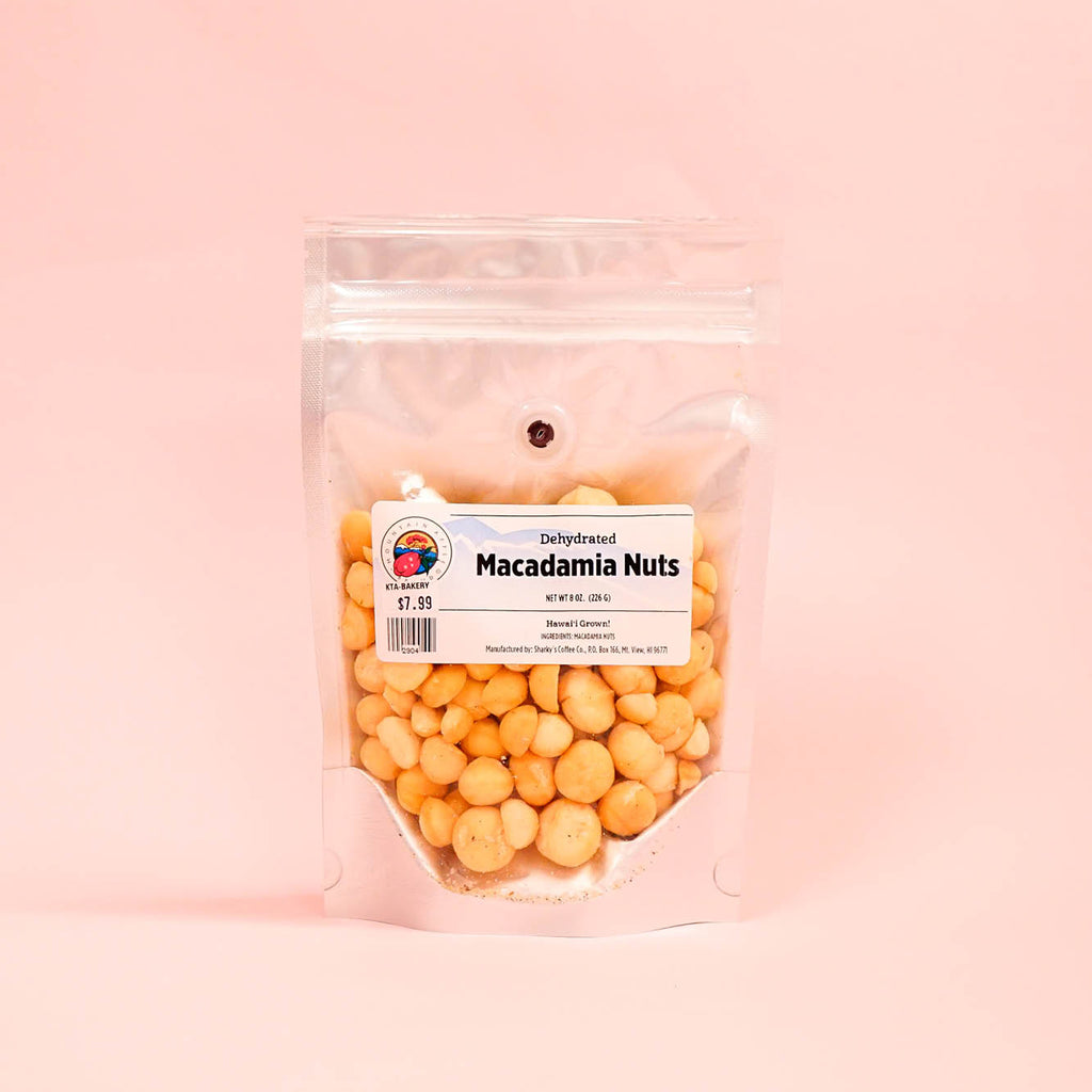 Mountain Apple Brand Dehydrated Macadamia Nuts