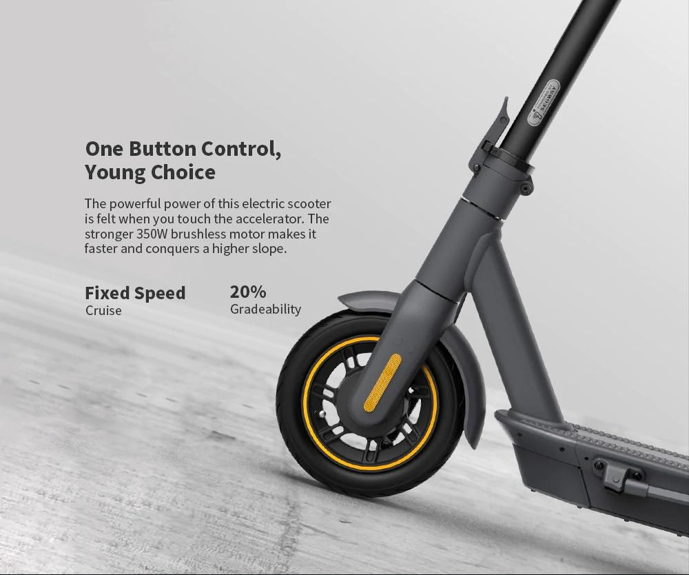 Segway Ninebot MAX G30 Electric Scooter 65km EU version