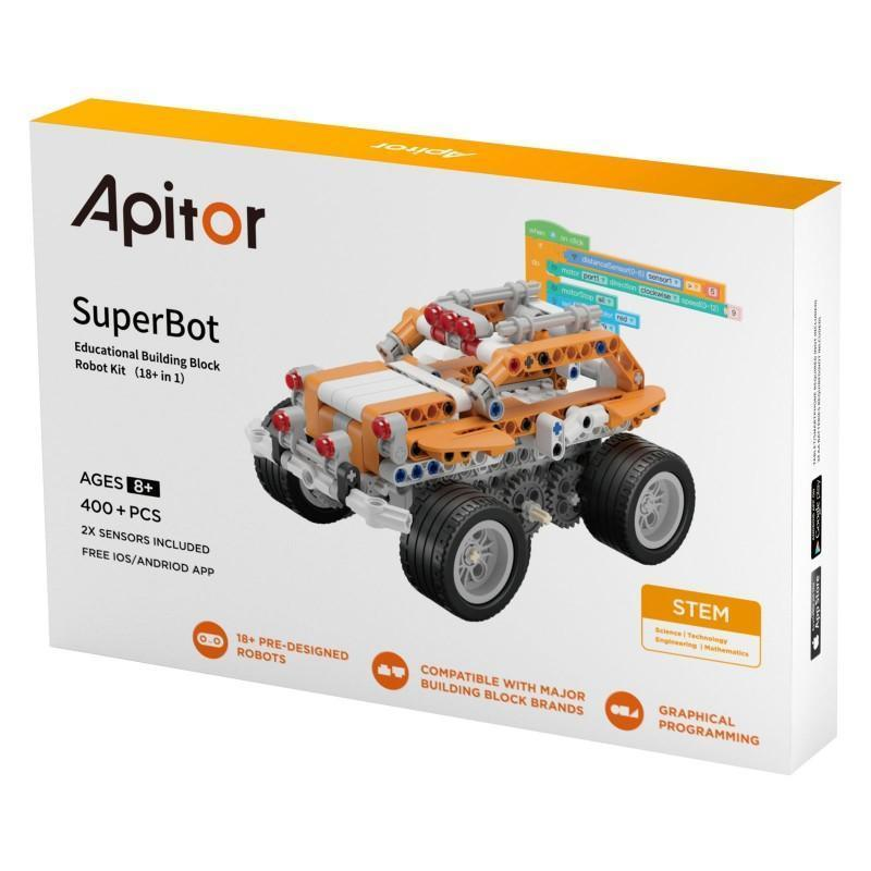 Xiaomi Apitor SuperBot 18 in 1 Robot Kit Toy