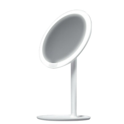 XIAOMI AMIRO Makeup Mirror Rechargable LED Daylight Cosmetic Adjustable USB Mirror