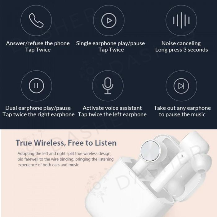 Xiaomi Mi True Wireless Earphones with Bluetooth, Touch Control & Voice Assistant