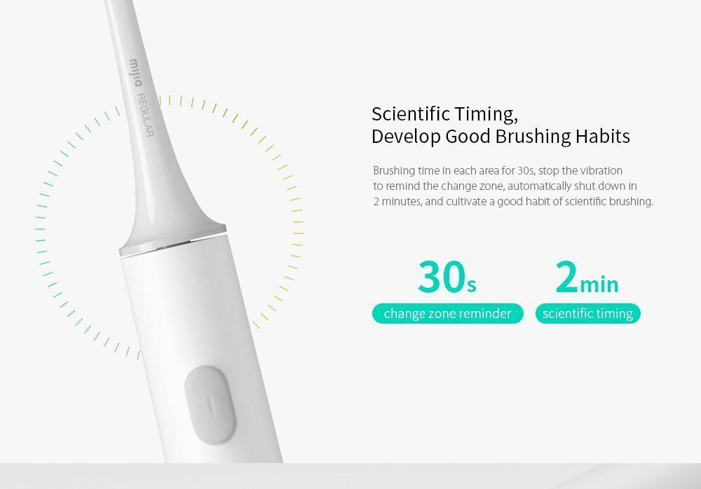 Xiaomi Mijia T300 Sonic Electric Toothbrush Rechargeable White