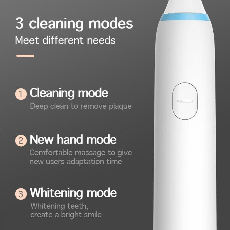 Xiaomi Soocas X1 Sonic Electric Toothbrush 3 Modes Waterproof Rechargeable