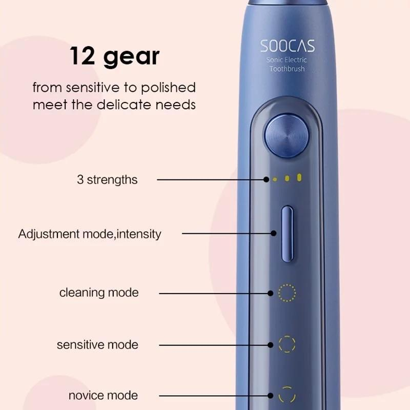 Xiaomi SOOCAS X5 Electric Sonic Toothbrush Wireless Charging