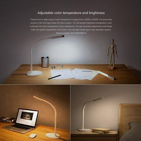 Yeelight Xiaomi LED Desk Lamp Adjustable Color Changing USB Charging White New