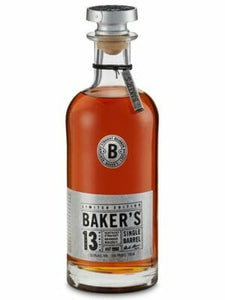 Baker's 13 Year Old Single Barrel Bourbon 750ml