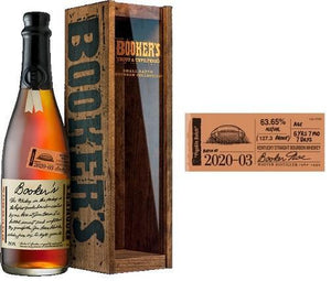 Booker's Bourbon Batch 2020-03 'Pigskin Batch' 750ml