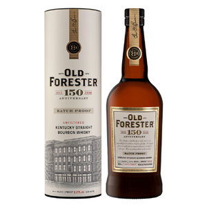Old Forester 150th Anniversary Batch 3 Proof 126.8 Bourbon 750ml