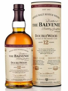 The Balvenie Doublewood 12 Year Scotch Whiskey 750ml