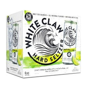 White Claw Natural Lime 12oz/6pk