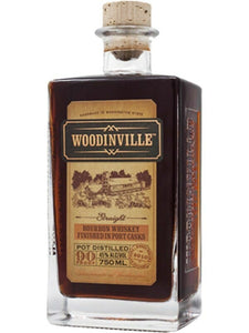 Woodinville Bourbon Whiskey Finished in Port Casks 750ml