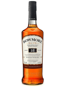 Bowmore 18 Year Old Scotch Whisky 750ml