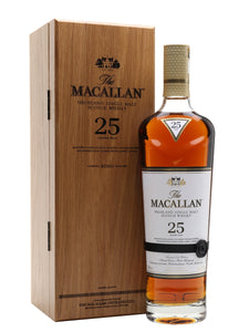 Macallan 25 Year Old Sherry Oak 750 ml