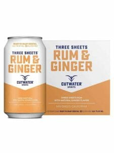 Three Sheets Rum & Ginger 4/12oz
