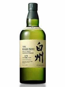 Hakushu 12 Year Old Japanese Whiskey 750ml