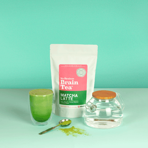 No-Brainer Brain Tea | Matcha Latte