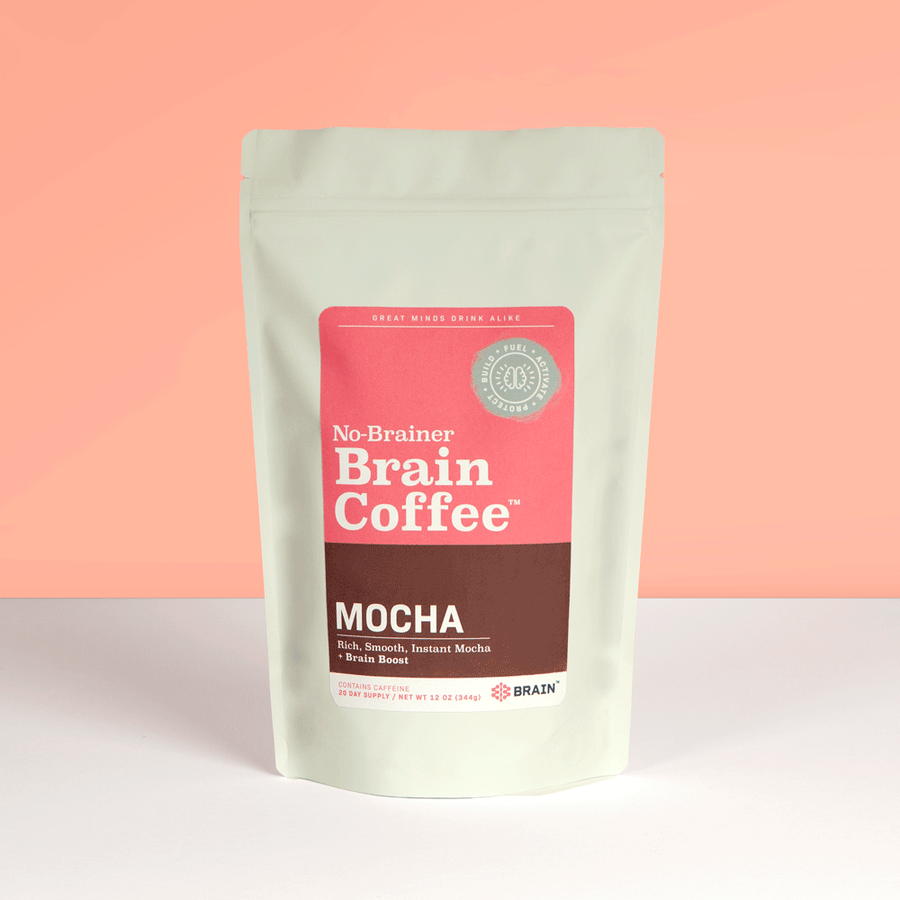 No-Brainer Brain Coffee | Mocha