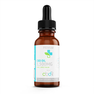 1500 Mg Full Spectrum CBD Oil Tincture - Our Wellness Rx