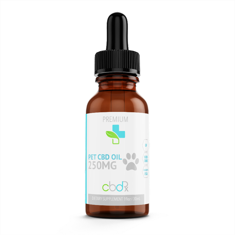 Pet 250 Mg Isolate CBD Oil Tincture - Our Wellness Rx