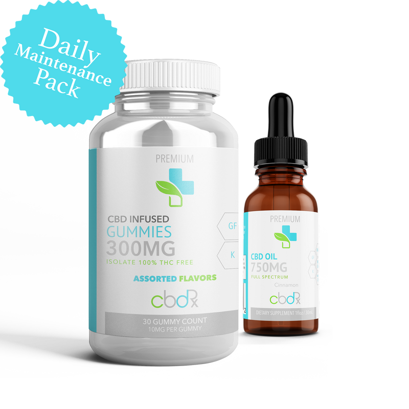Full Spectrum Daily Maintenance Pack - Our Wellness Rx
