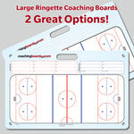 Ringette Large Coaching Board - (2 Versions)