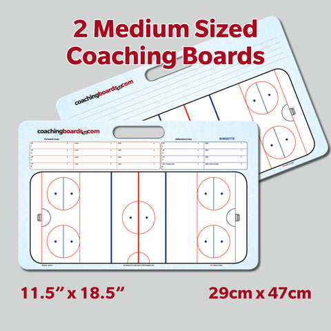Ringette Medium Coaching Board (2 Versions)