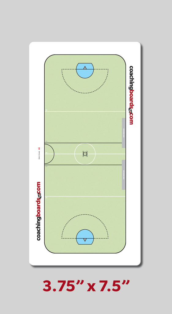 Box Lacrosse Pocket Card