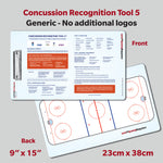 Concussion Recognition Clipboard