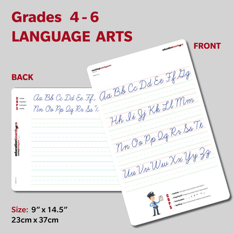 SMALL - Grades 4, 5, 6 Language Arts