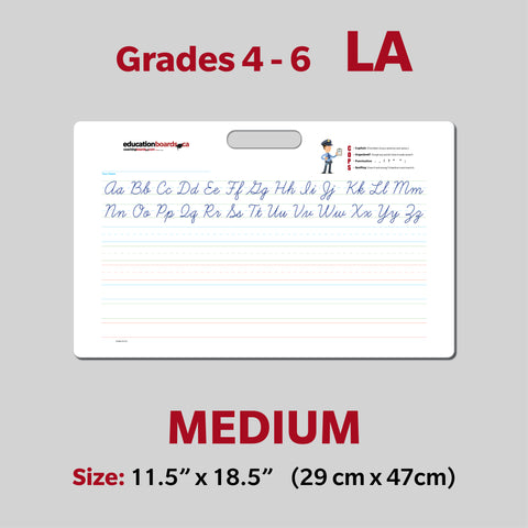 MEDIUM - Grades 4, 5, 6 Language Arts