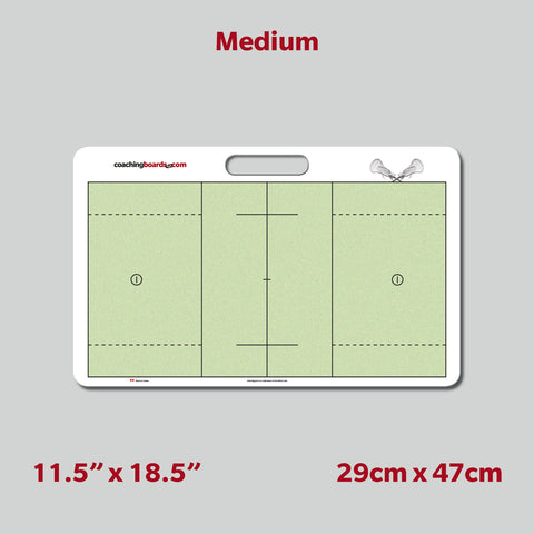 Lacrosse Dry Erase Coaching Board - Medium