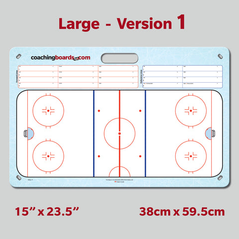 Large Hockey Coaching Board