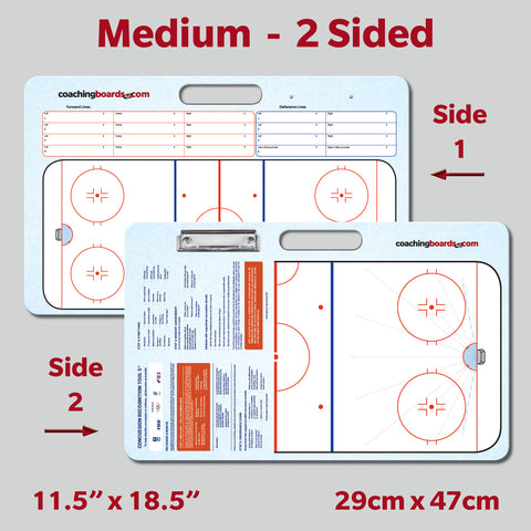 Medium Hockey 2 Sided Coaching Board