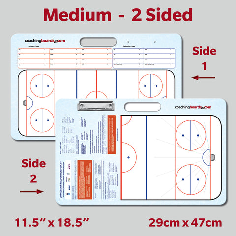 Ringette-Medium-2 Sided Coaching Board