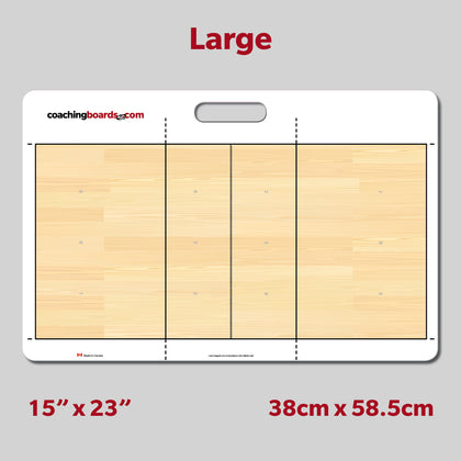 Volleyball Dry Erase Coaching Board - Large