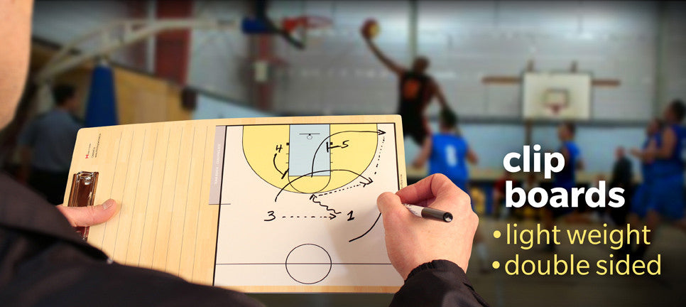 basketball clipboard for coaching and plays