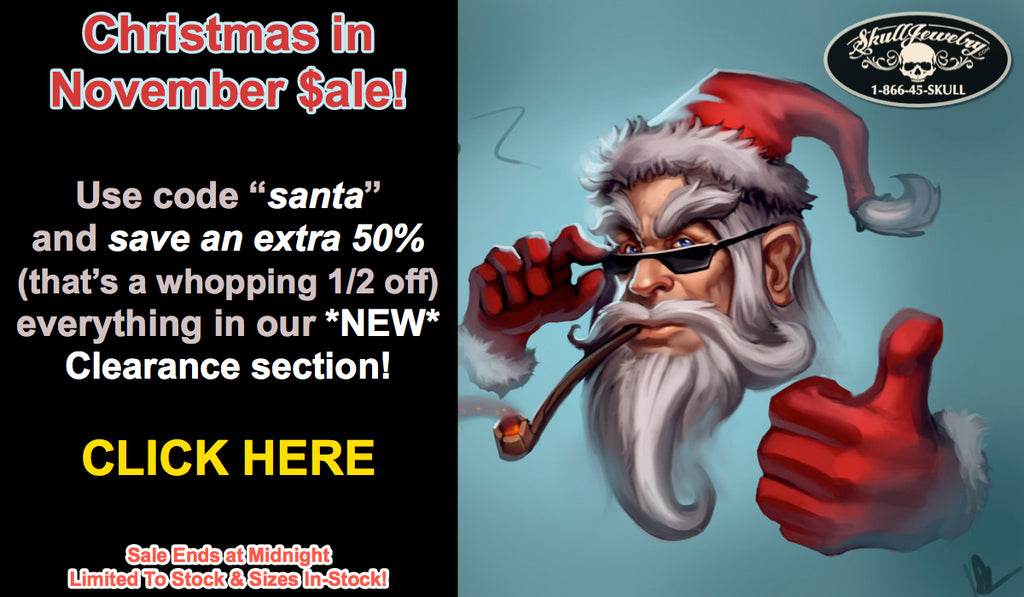 christmas in november sale - ends at midnight