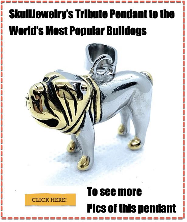 Tribute Bulldog Pendant
