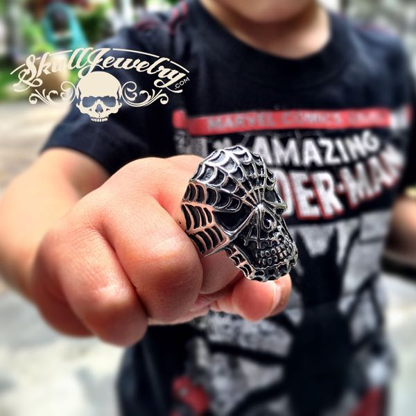 amazing spider-man ring