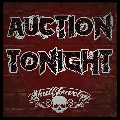 skull and biker jewelry auction