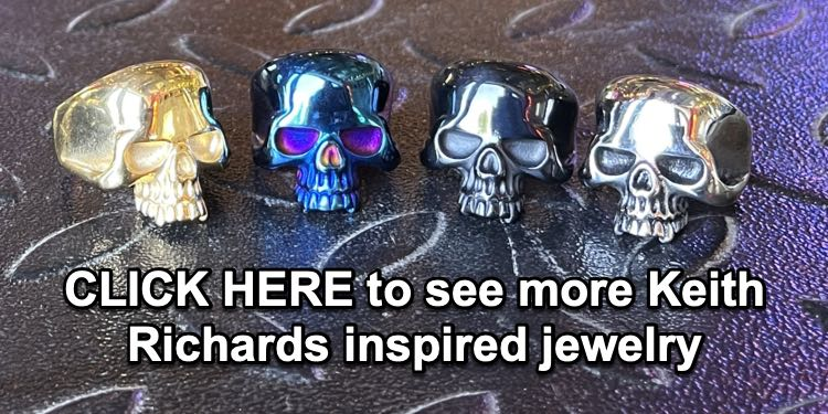 keith richards inspired jewelry
