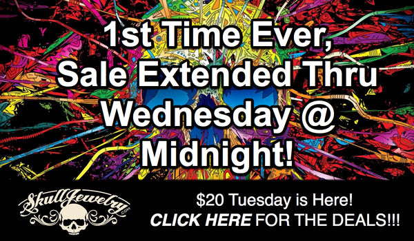 $20 Tuesday promo extended through midnight tonight
